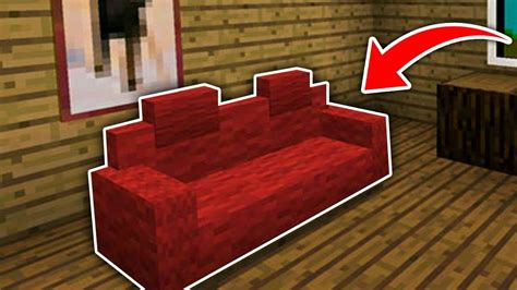Build A Couch With Cushions Minecraft
